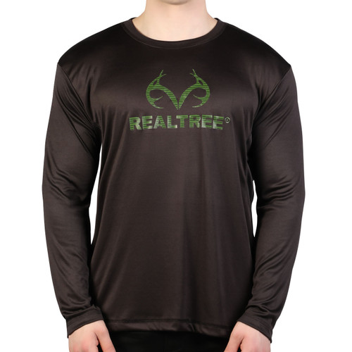 Men's Active Long sleeve Logo Shirt