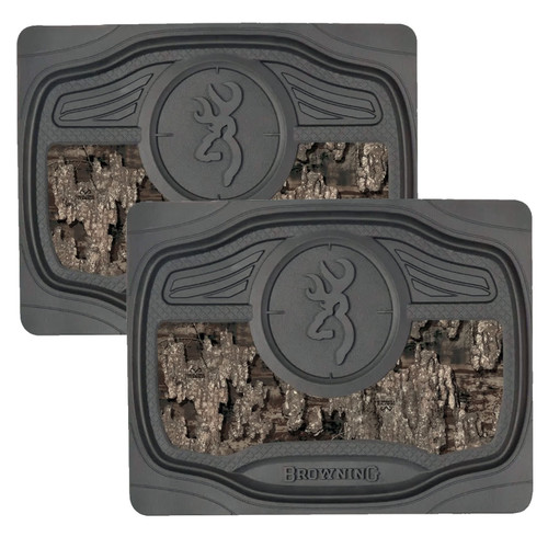 Realtree Timber Camo 2-Piece Rear Floor Mats
