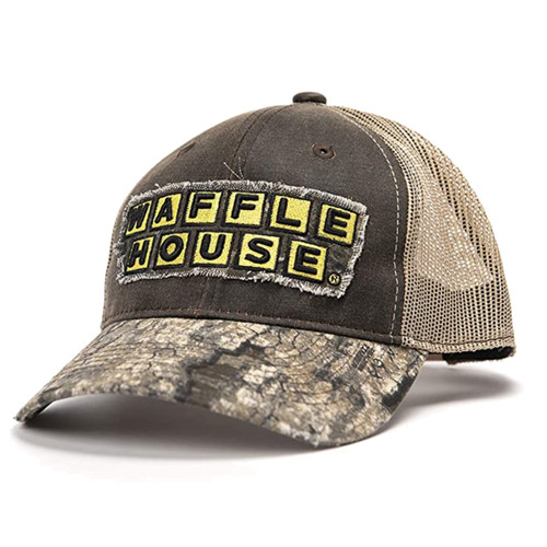 Waffle House Timber Camo Mesh Back Cap