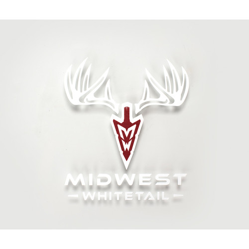 MidWest Whitetail Small Decal