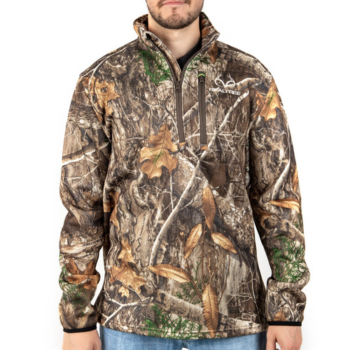 Realtree Edge Men's Pro Staff 1/4 Zip