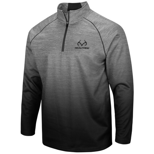 Men's 1/4 Zip Gray Sublimated Jacket