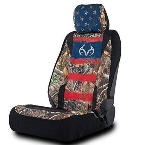 Realtree Edge/Americana Lowback Seat Cover