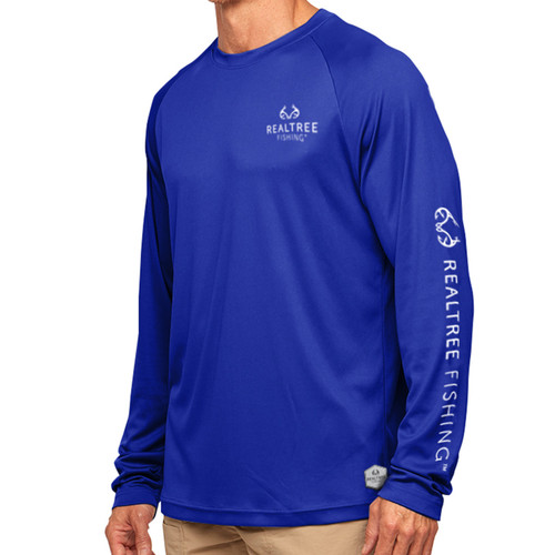 Pro Series Longsleeve Fishing Shirt Blue