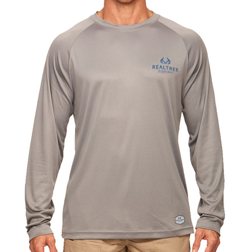 Pro Series Longsleeve Fishing Shirt Gray