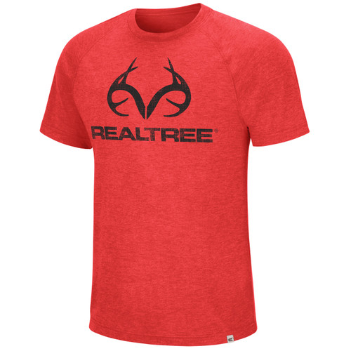 Men's Short Sleeve Red Shirt