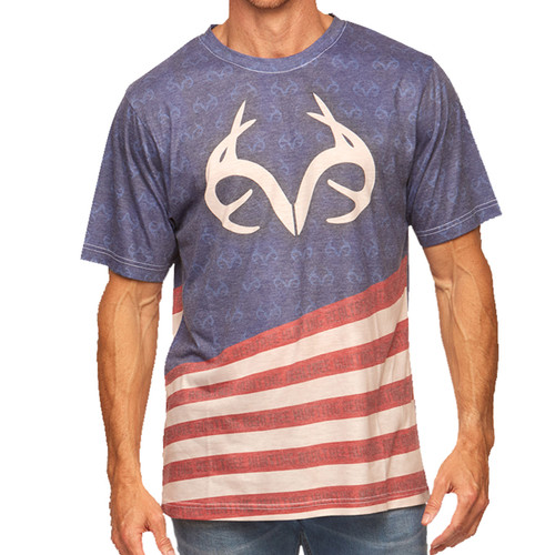 Realtree's Men Independence II Short Sleeve Tee