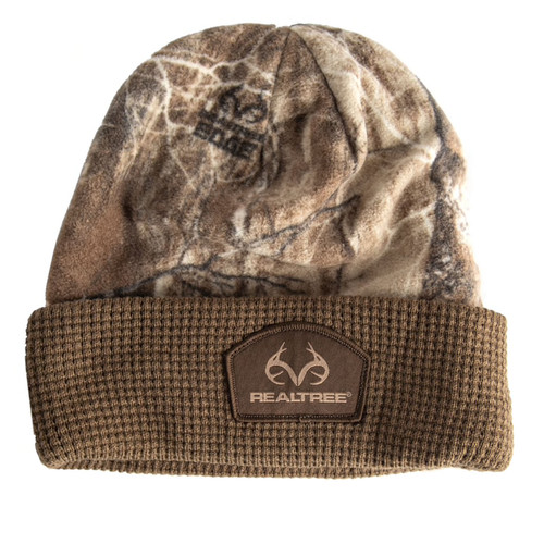 Realtree Pro Staff Cuffed Camo Beanie in Edge
