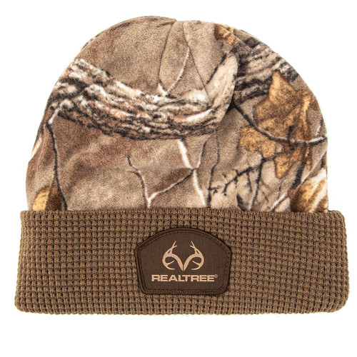 Realtree Pro Staff Cuffed Camo Beanie in Xtra