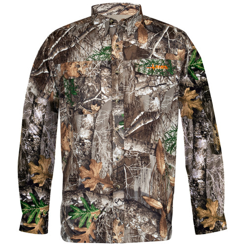 Men's Junction Long Sleeve Edge Camo Shirt
