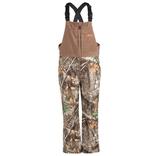 Men's Edge Camo Cedar Branch Insulated Waterproof Bibs