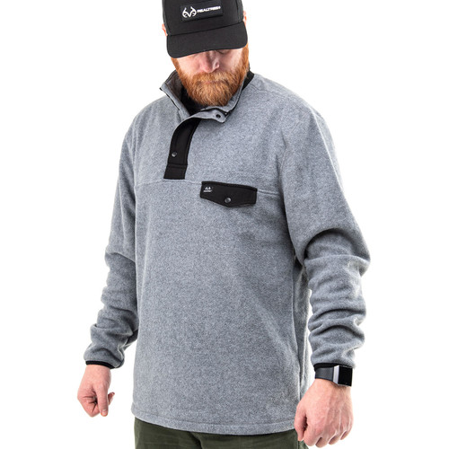 Men's 1/4 Snap Polar Fleece Pullover