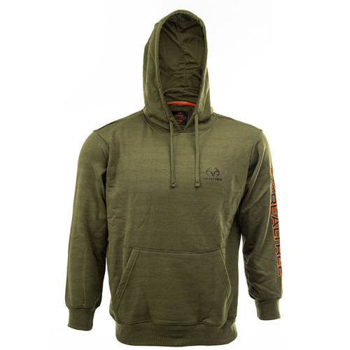 Realtree Men's Hunter Green Performance Hoodie