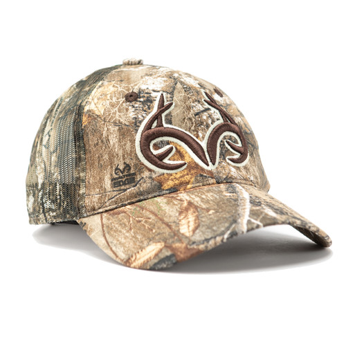 Realtree Logo Edge Meshback Hat