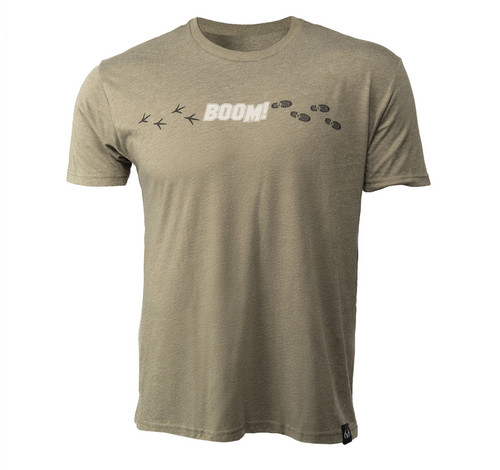 Men's BOOM Short Sleeve Green Shirt