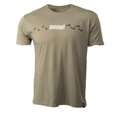 Men's BOOM Short Sleeve Green Shirt