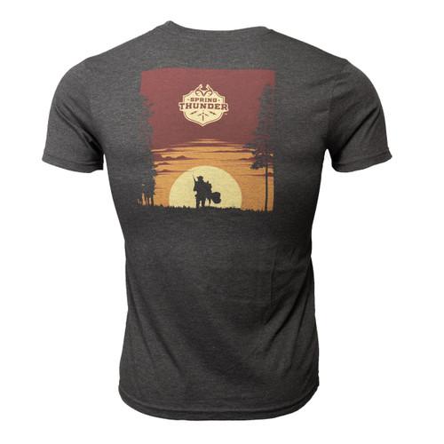 Men's Morning Success Short Sleeve Black Shirt