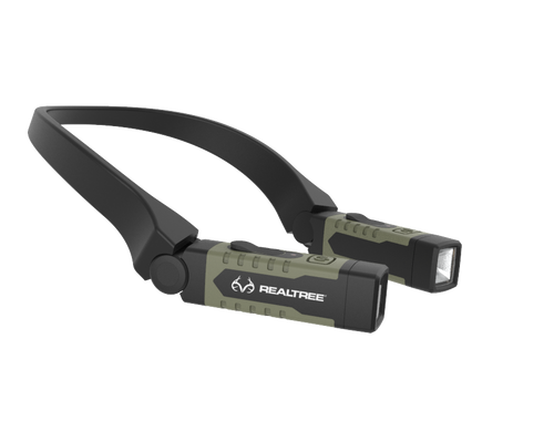 Realtree USB Rechargable LED Neck Light Hand Free Lighting