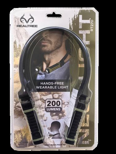 Realtree Bright Alkaline LED Neck Light For Hands-Free Lighting