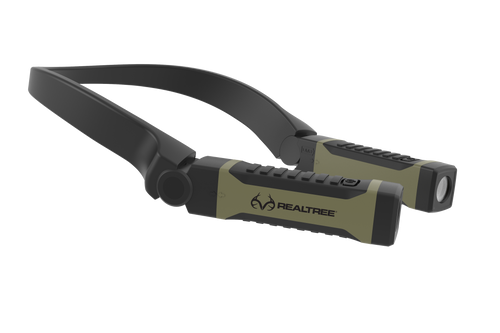 Realtree Bright Alkaline LED Neck Light For Hands-Free Lighting