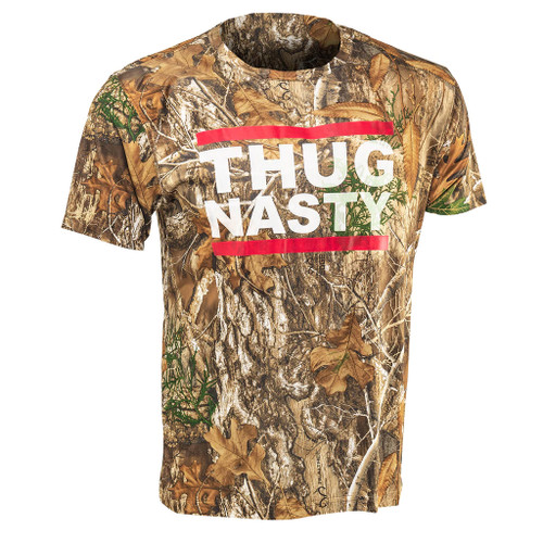 Bryce Mitchell Official Thug Nasty Realtree Edge Short Sleeve Shirt