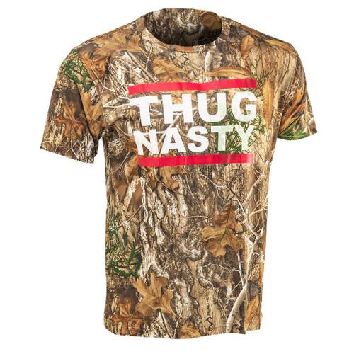 Bryce Mitchell Official Thug Nasty Realtree Edge Short Sleeve Shirt