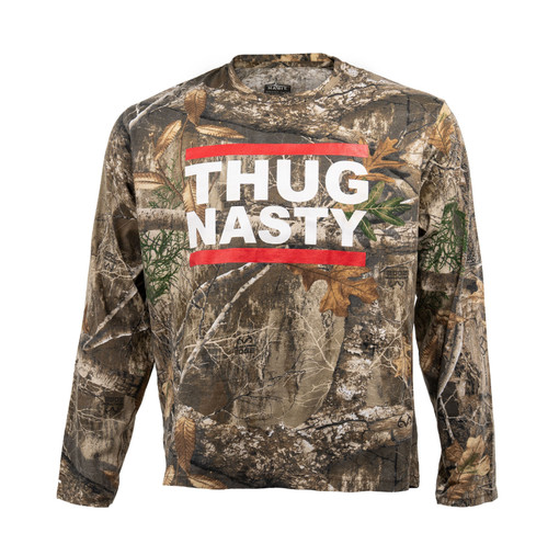 Bryce Mitchell Official Thug Nasty Youth Realtree Edge Long Sleeve Shirt