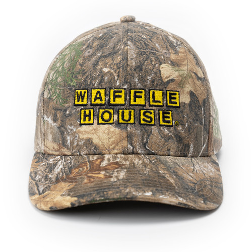 Waffle House Edge Camo Adjustable Snap Back Cap