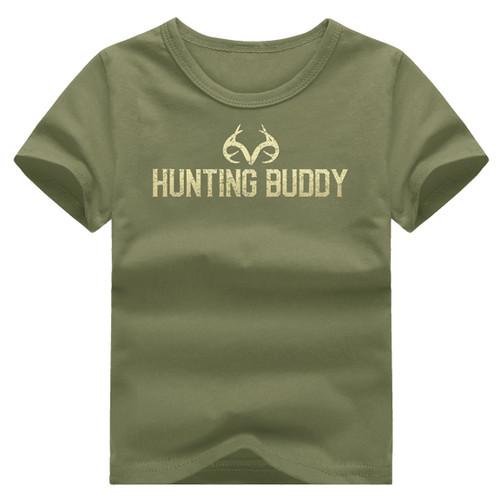 Boy's Hunting Buddy Short Sleeve Shirt