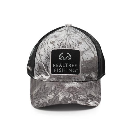 Realtree Wav3 Black Patch Mesh Back Hat
