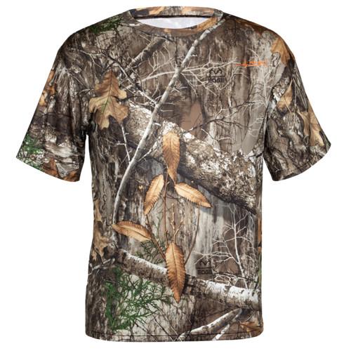 Realtree Edge Camo Short Sleeve Performance Shirt
