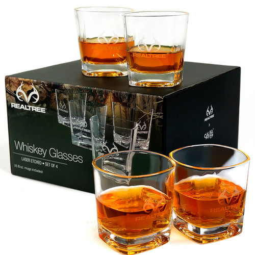 Realtree Whiskey Glass Set of 4 Image
