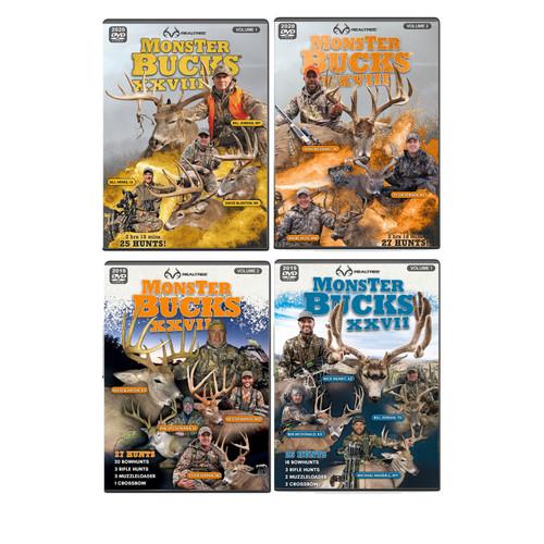 Realtree Monster Bucks XXVII & XXVIII Volume 1 & 2 (2019 -2020 Release) - Limited Edition