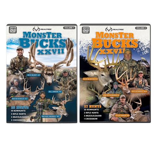 Realtree Monster Bucks XXVII Volume 1 & 2 (2019 Release)