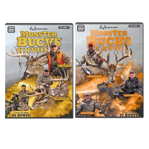 Realtree Monster Bucks XXVIII Volume 1 & 2 (2020 Release)