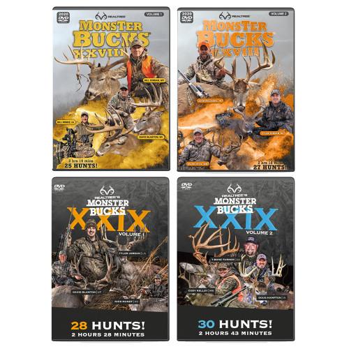 Monster Bucks XXVII & XXIX Volume 1 & 2 (2020 & 2021 Release)