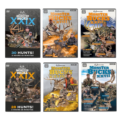 Monter Bucks DVDs Collection - Hunting DVDs