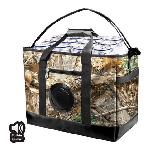 36 Can Soft Cooler with Built in Rechargeable Speaker
