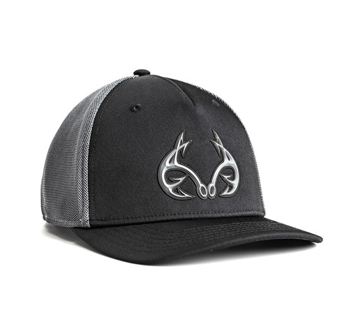 Realtree Fishing Blackout Performance Fitted Hat