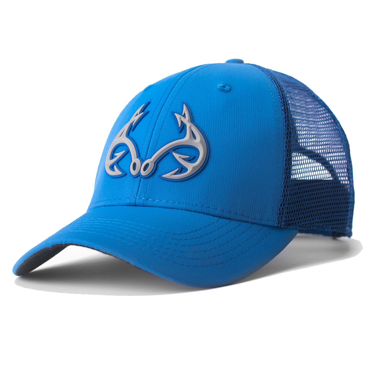 Realtree Fishing 3D Logo Blue Hat  f5de3668e57