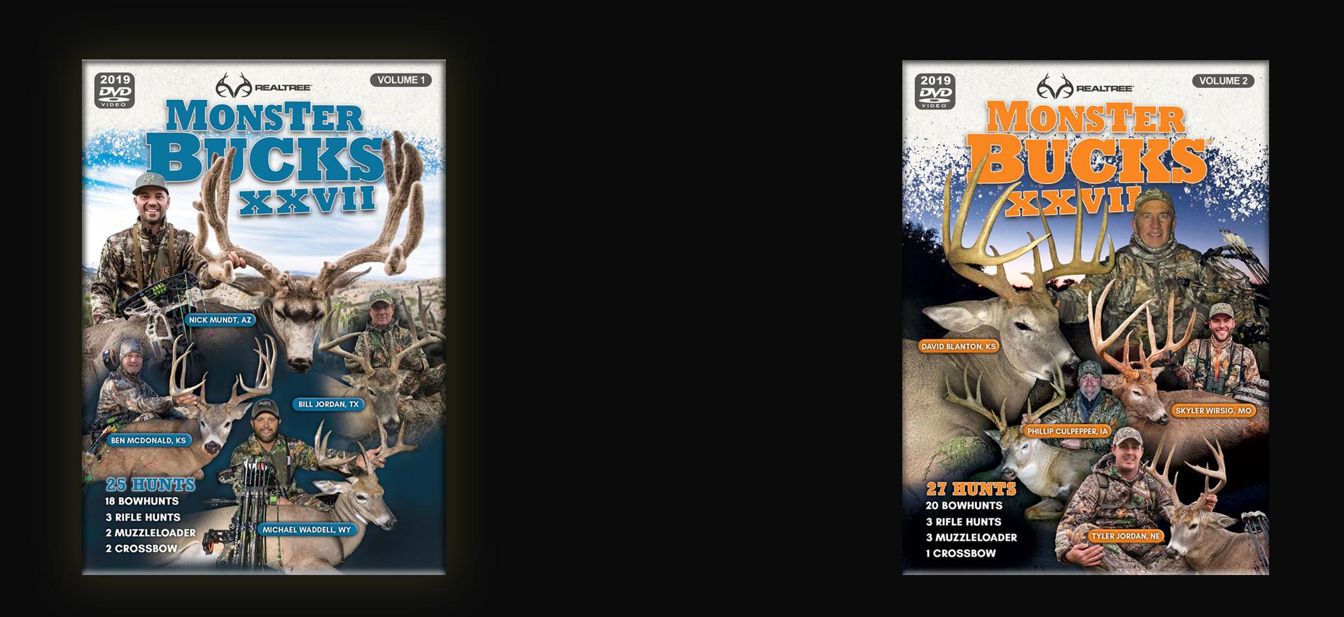 Realtree Monster Bucks XXVII 2019 DVDs