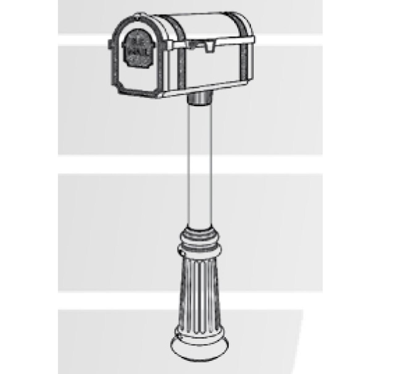 Hanover Lantern M60N Pine Valley Mailbox - Lighttrends