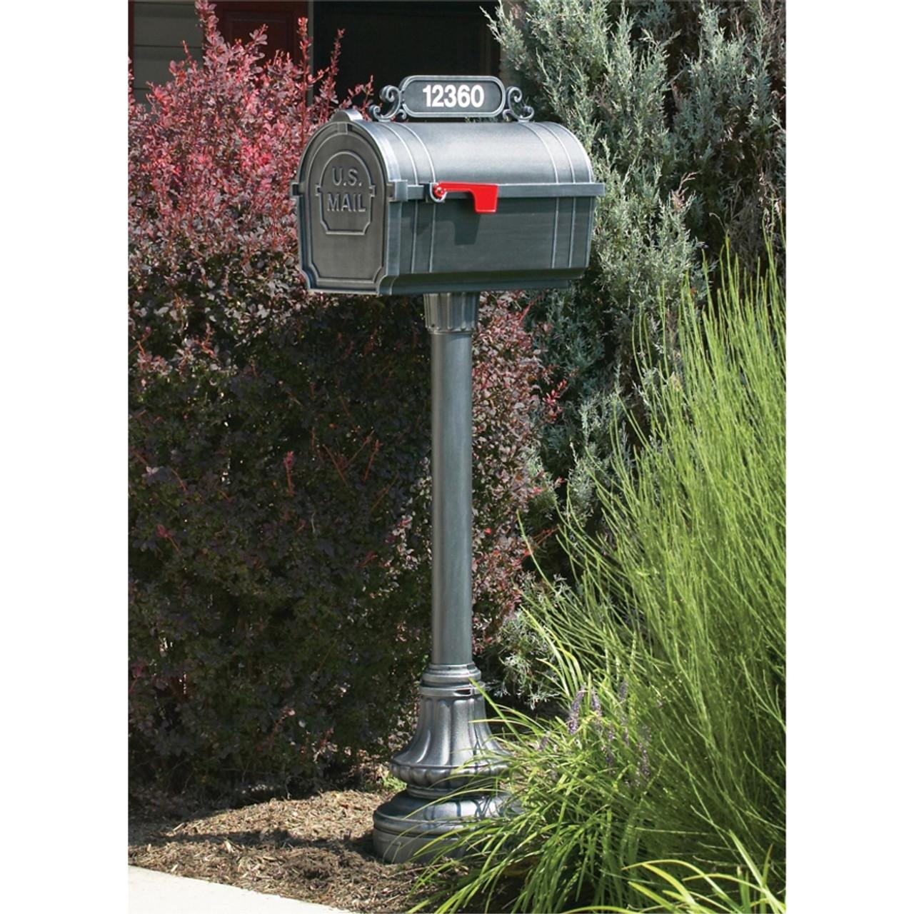 Hanover Lantern M60S Pine Valley Mailbox with Address Sign ...