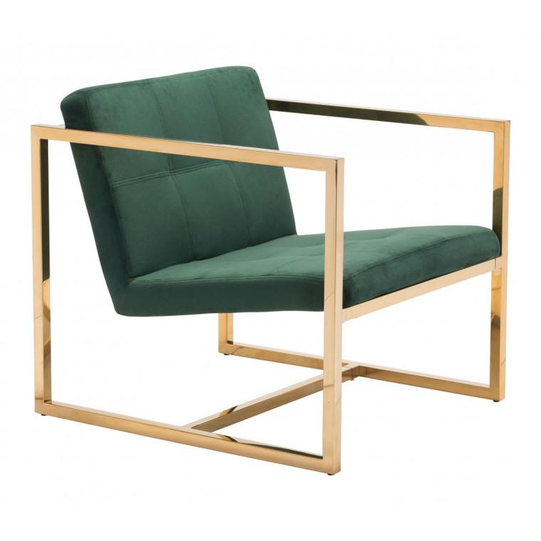 Zuo Alt Arm Chair Green 101108