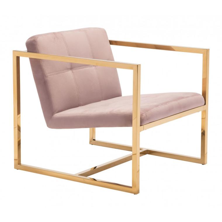 Zuo Alt Arm Chair Pink 101109