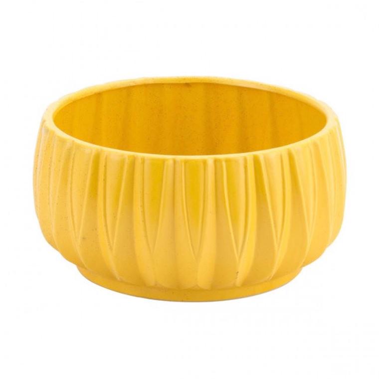 Zuo Acacia Bowl Yellow A11609