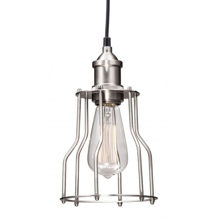 Zuo Adamite Ceiling Lamp Nickel 98256
