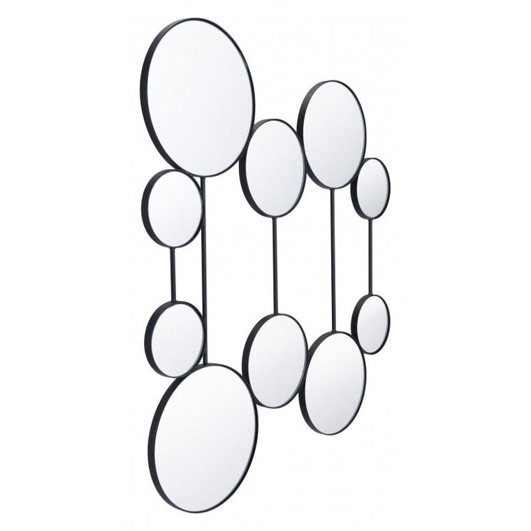 Zuo Cery Round Mirrors Black A11995