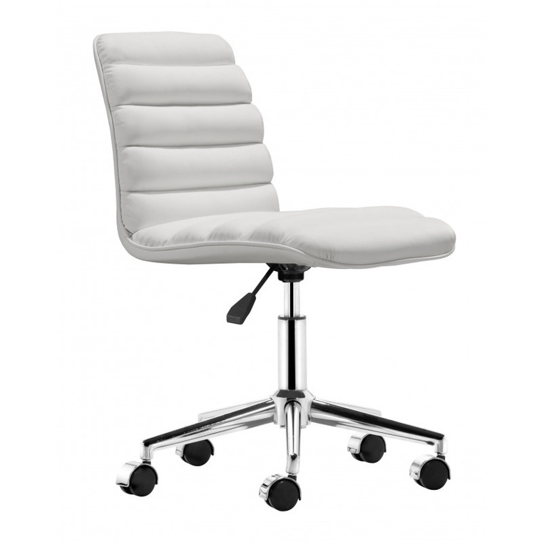 Zuo Admire Office Chair White 205711