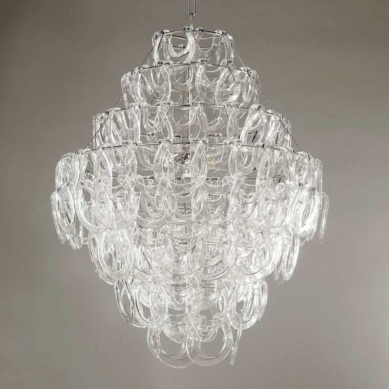Vaughan Lighting CL0028.NI Sorbonne Glass Chandelier
